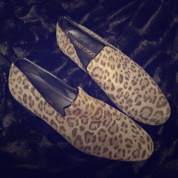60e2d0d23 Jimmy Choo Other - Jimmy Choo Men s Sloane leopard suede loafers 11M
